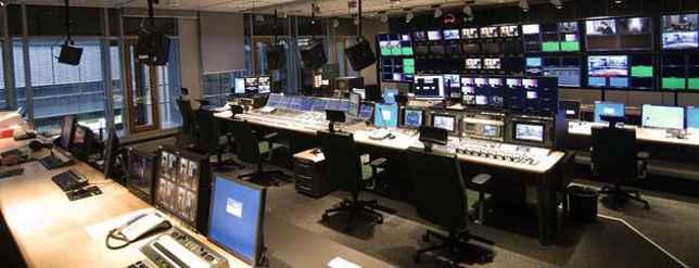 Probebetrieb kompletter Fernsehregien